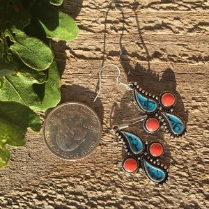 Southwest Paisley Style earrings